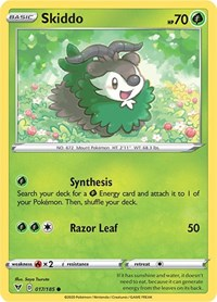 Skiddo, Pokemon, SWSH04: Vivid Voltage