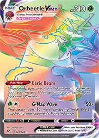 Orbeetle VMAX (Secret), Pokemon, SWSH04: Vivid Voltage