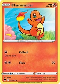 Charmander, Pokemon, SWSH04: Vivid Voltage