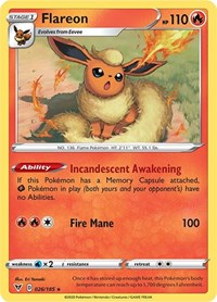 Flareon, Pokemon, SWSH04: Vivid Voltage