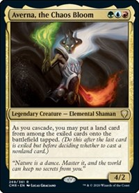 Averna, the Chaos Bloom, Magic: The Gathering, Commander Legends