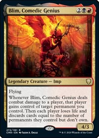 Blim, Comedic Genius, Magic: The Gathering, Commander Legends