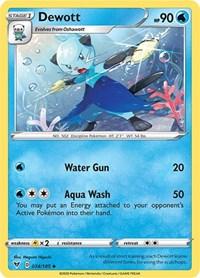 Dewott, Pokemon, SWSH04: Vivid Voltage
