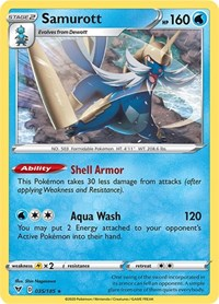 Samurott, Pokemon, SWSH04: Vivid Voltage