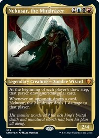 Nekusar, the Mindrazer (Foil Etched), Magic: The Gathering, Commander Legends