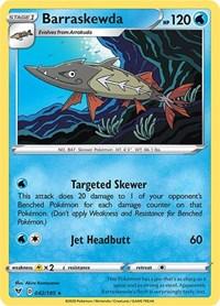 Barraskewda, Pokemon, SWSH04: Vivid Voltage