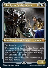 Silas Renn, Seeker Adept (Foil Etched), Magic: The Gathering, Commander Legends