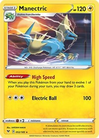 Manectric, Pokemon, SWSH04: Vivid Voltage