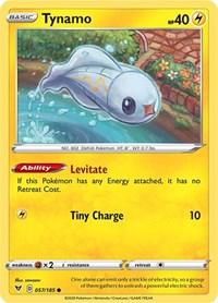 Tynamo, Pokemon, SWSH04: Vivid Voltage