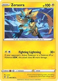 Zeraora, Pokemon, SWSH04: Vivid Voltage