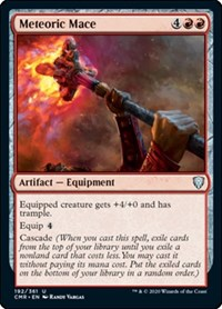 Meteoric Mace, Magic: The Gathering, Commander Legends
