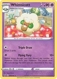Whimsicott, Pokemon, SWSH04: Vivid Voltage