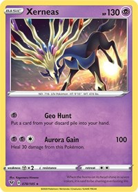 Xerneas, Pokemon, SWSH04: Vivid Voltage