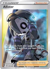 Allister (Full Art), Pokemon, SWSH04: Vivid Voltage