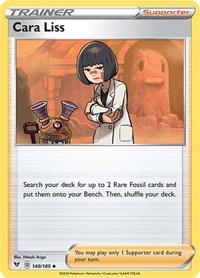 Cara Liss, Pokemon, SWSH04: Vivid Voltage