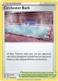 Circhester Bath, Pokemon, SWSH04: Vivid Voltage
