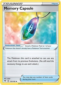 Memory Capsule, Pokemon, SWSH04: Vivid Voltage