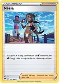 Nessa, Pokemon, SWSH04: Vivid Voltage