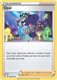 Opal, Pokemon, SWSH04: Vivid Voltage