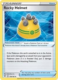 Rocky Helmet, Pokemon, SWSH04: Vivid Voltage