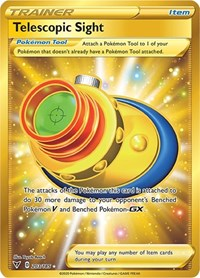 Telescopic Sight (Secret), Pokemon, SWSH04: Vivid Voltage