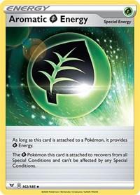 Aromatic Grass Energy, Pokemon, SWSH04: Vivid Voltage
