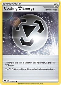 Coating Metal Energy, Pokemon, SWSH04: Vivid Voltage
