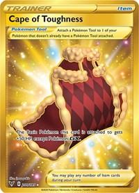 Cape of Toughness (Secret), Pokemon, SWSH04: Vivid Voltage