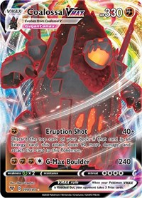 Coalossal VMAX, Pokemon, SWSH04: Vivid Voltage