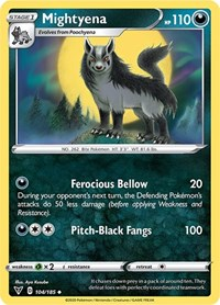 Mightyena, Pokemon, SWSH04: Vivid Voltage