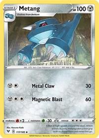 Metang, Pokemon, SWSH04: Vivid Voltage