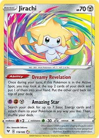 Jirachi, Pokemon, SWSH04: Vivid Voltage