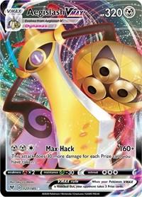 Aegislash VMAX, Pokemon, SWSH04: Vivid Voltage