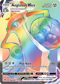 Aegislash VMAX (Secret), Pokemon, SWSH04: Vivid Voltage