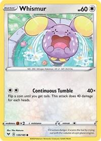 Whismur, Pokemon, SWSH04: Vivid Voltage