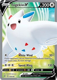 Togekiss V (Full Art), Pokemon, SWSH04: Vivid Voltage
