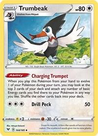 Trumbeak, Pokemon, SWSH04: Vivid Voltage