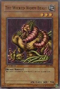 The Wicked Worm Beast, YuGiOh, Starter Deck: Kaiba