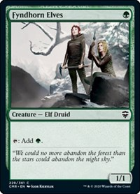 Fyndhorn Elves, Magic: The Gathering, Commander Legends