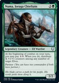 Numa, Joraga Chieftain, Magic: The Gathering, Commander Legends