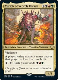 Yurlok of Scorch Thrash, Magic: The Gathering, Commander Legends