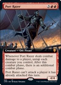 Port Razer (Extended Art), Magic: The Gathering, Commander Legends