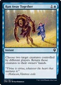 Run Away Together, Magic: The Gathering, Commander Legends