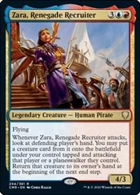Zara, Renegade Recruiter, Magic: The Gathering, Commander Legends