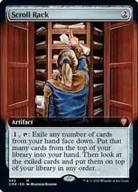 Scroll Rack (Extended Art), Magic: The Gathering, Commander Legends