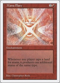 Mana Flare, Magic: The Gathering, Fifth Edition