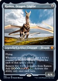 Ramos, Dragon Engine (Foil Etched) (Foil)
