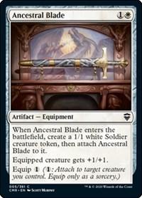 Ancestral Blade, Magic: The Gathering, Commander Legends