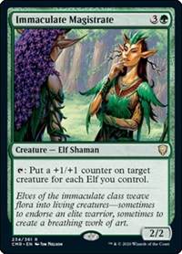Immaculate Magistrate, Magic: The Gathering, Commander Legends
