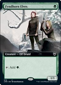 Fyndhorn Elves (Extended Art), Magic: The Gathering, Commander Legends